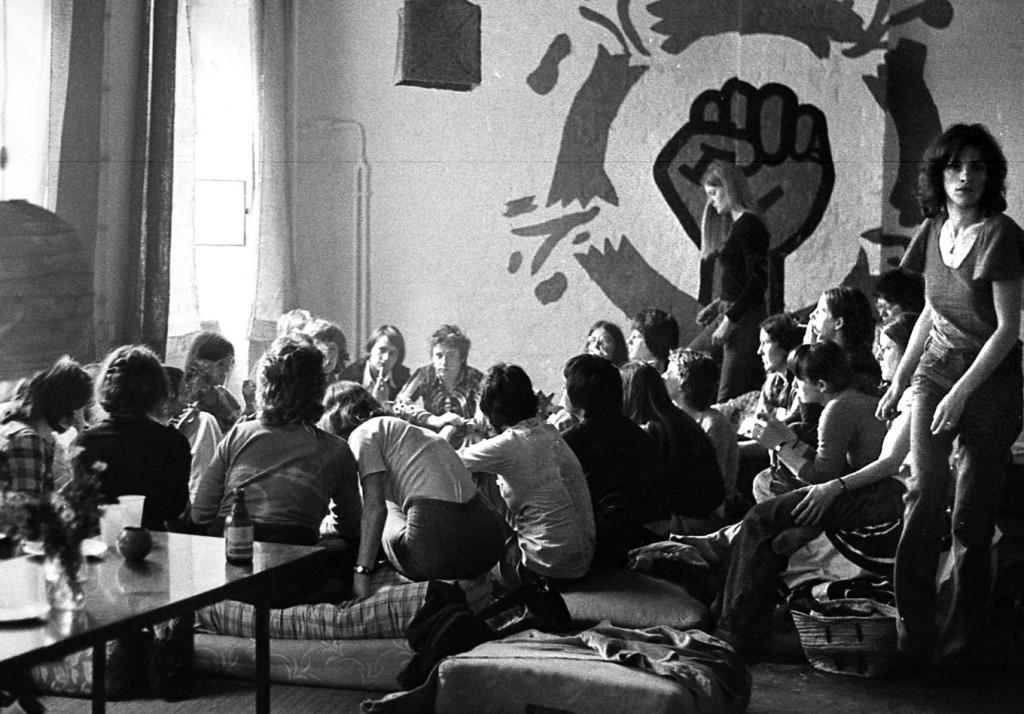 Eines der Projekte der autonomen Frauenbewegung: Pfingsttreffen im Lesbischen Aktionszentrum (LAZ), 1975. (Foto: M.S.)